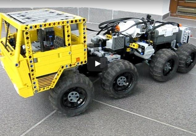 Lego Tatra T813 8×8