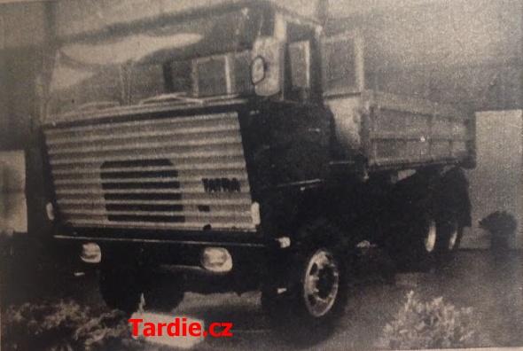 Tatra na Ženevském autosalonu 1968