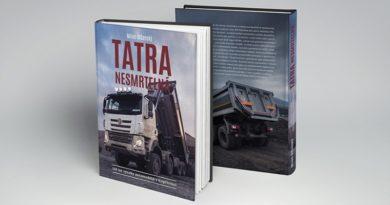 TATRA vydává novou knihu s názvem TATRA nesmrtelná