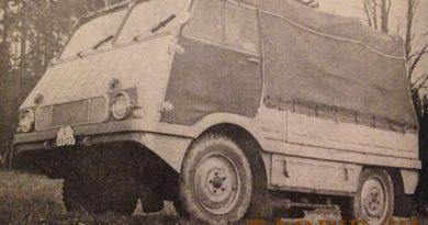 Škoda ČZ 998 – 4×4 – automobil pro zemědělství