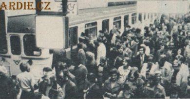 """Zahájení provozu metra na trase """"C"""" 1974"""