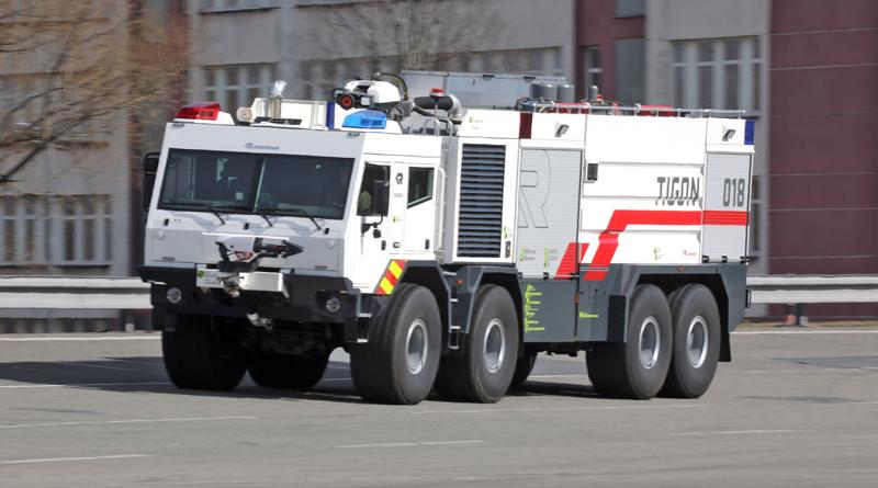 TATRA TIGON – hasičský unikát