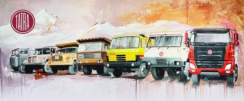 Kopřivnická automobilka slaví 100 let světoznámé značky TATRA