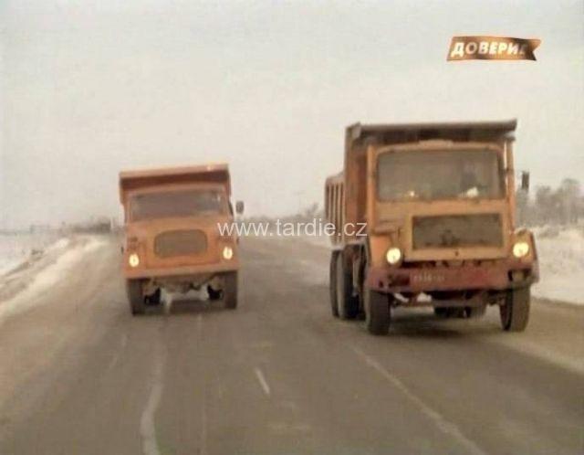 Tatra ve filmu: Trasa