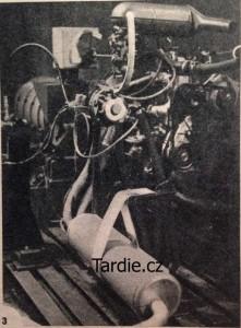 Škoda 1203 motor LPG