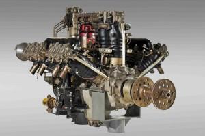 Letecký motor L-K W12