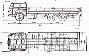 Třínápravový speciál Škoda 706 RTDV