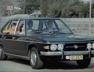 Tatra-613-1975- Film: Tři od moře